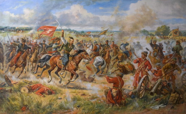 Image - The Battle of Konotop (a painting Artur by Orlenov).