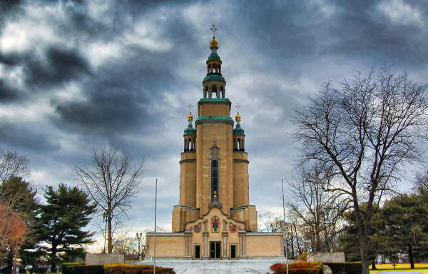 Image - The Orthodox Cathedral of Saint Andrew in South Bound Brook, NJ.