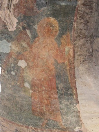 Image - Frescos in Saint Michael's Church (aka Yurii's Temple) in Oster (built in 1098).