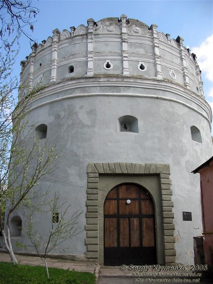 Image - The Lutsk Tower of the Ostrih castle (14th-16th century).