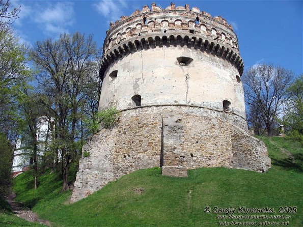 Image - The Round Tower of the Ostrih castle (14th-16th century).