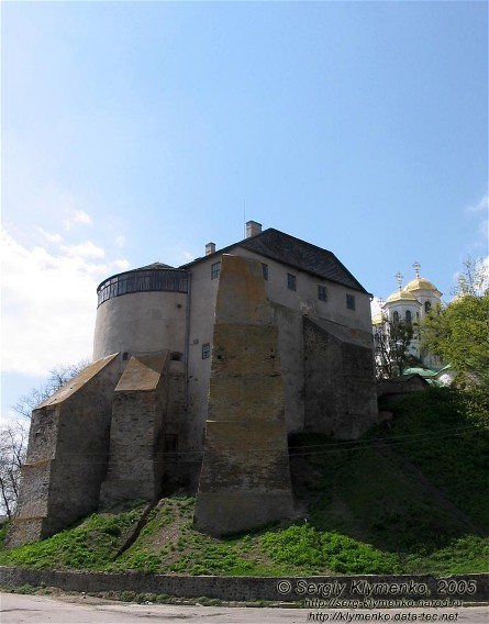 Image - Ostrih castle (14th-16th century).