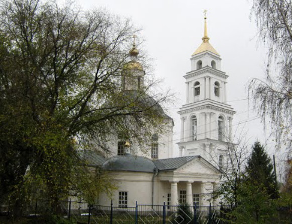 Image - Ostrohozke in the Voronezh region (Transfiguration church).