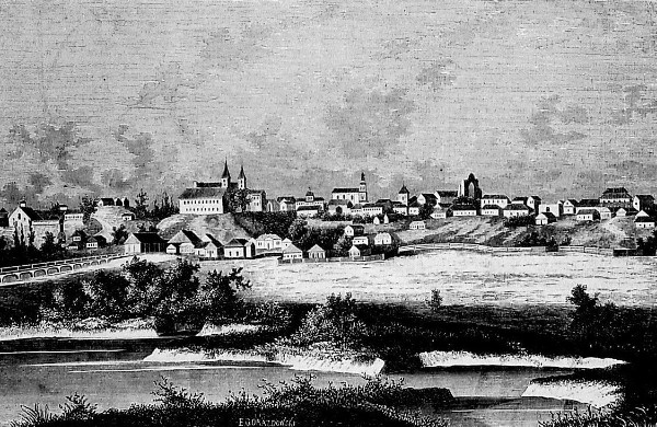 Image - Ovruch on 19th-century lithograph.