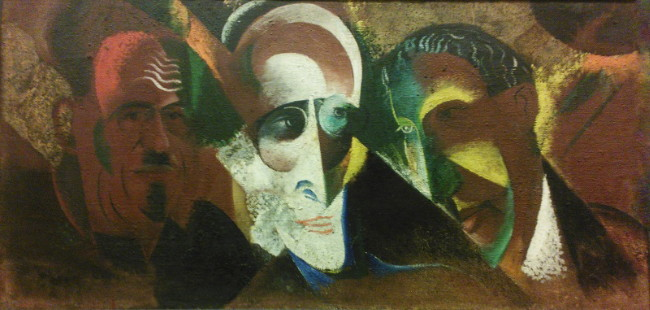 Image - Viktor Palmov: Group Portrait (1926).