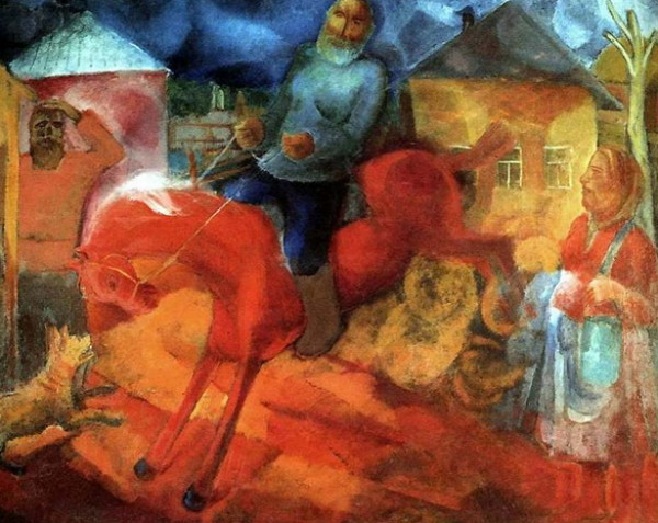 Image - Viktor Palmov: Breaking the Horse (1927).