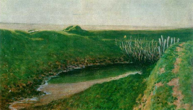 Image - Yuliian Pankevych: A Small Lake (1919).