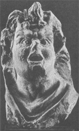 Image -- A head of an actor sculpture (3rd-2nd century BC) from Panticapaeum, the former capital of the Bosporan Kingdom.