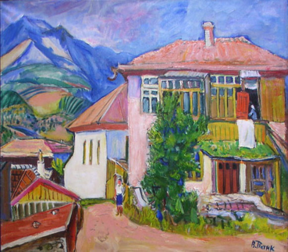 Image - Volodymyr Patyk: A House in Alushta.