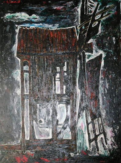 Image - Volodymyr Patyk: Old Mill (1968).