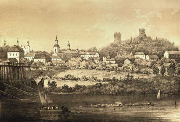 Image - Peremyshl (Przemysl) on a 19th-century engraving.