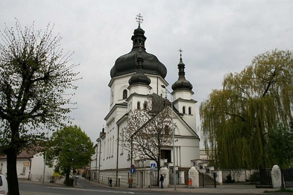 Image - Peremyshl (Przemysl): Basilian Church of the Suffering Mother of God.
