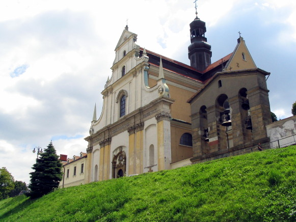 Image - Peremyshl (Przemysl): Carmelite church, formerly Greek Catholic Cathedral of Saint John the Baptist.
