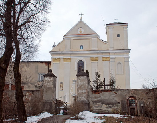 Image - Peremyshliany, Lviv oblast: SS Peter and Paul Church (17th century).