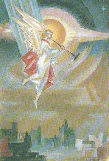 Image - Leonid Perfetsky: And the Fifth Angel Blew his Trumpet.