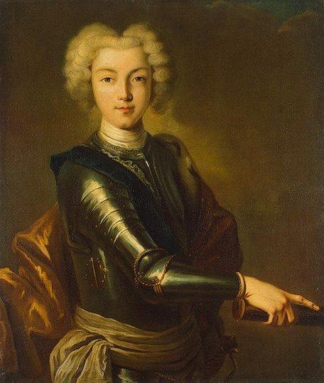 Image - A Portrait of Peter II of Russia.