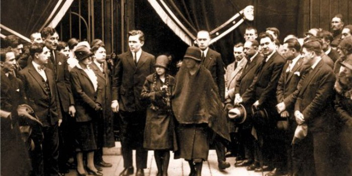 Image - The funeral of Symon Petliura (Paris, 1926).