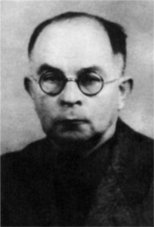 Image -- Viktor Petrov  (1940s photo).