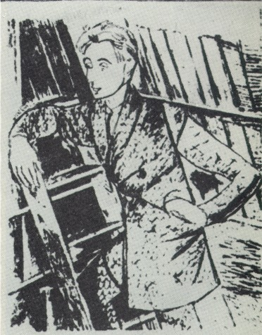 Image - Anatol Petrytsky's drawing of Les Kurbas (1929).