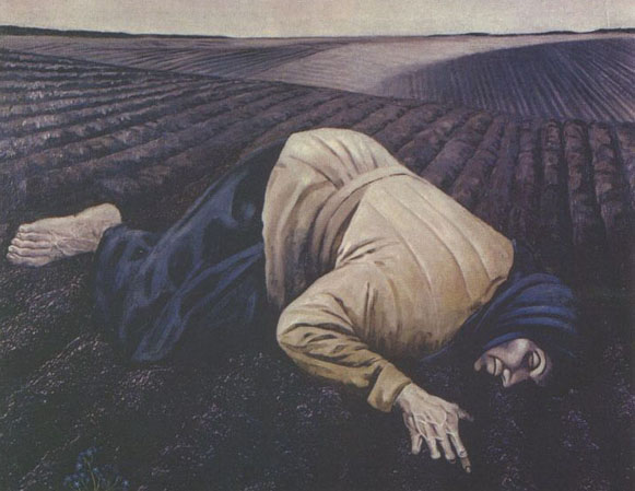 Image - Bohdan Pevny: Earth, dedicated to the memory of the 1933 famine in Ukraine (1963)