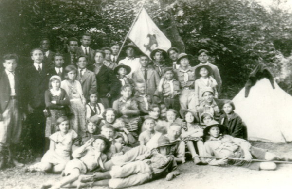 Image - A Plast troop in Transcarpathia (1930s).