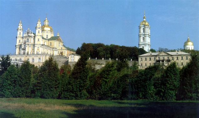 Image - Panorama of the Pochaiv Monastery.