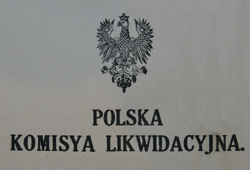Image - Logo of the Polish Liquidation Commission.