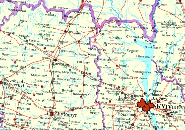 Image from entry Uzh River (Polisia) in the Internet Encyclopedia of Ukraine