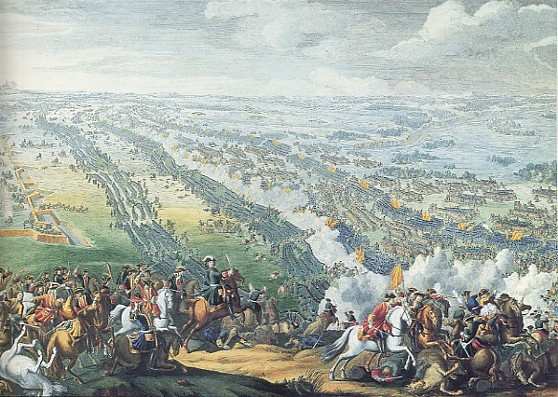Image - Battle of Poltava: Painting by Charles Simono (1724)