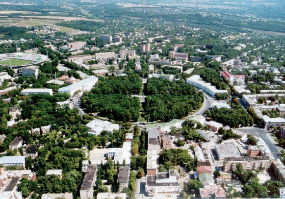 Image - Poltava: the Kruhla Square (aerial view).