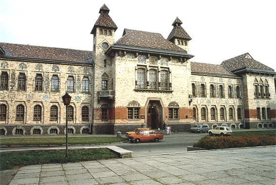 Image - The Poltava Regional Studies Museum: formerly the Poltava Zemstvo Building designed by Vasyl H. Krychevsky in 1903-1907.