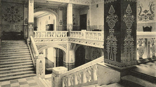 Image - Interior of the Poltava Regional Studies Museum (1910s).
