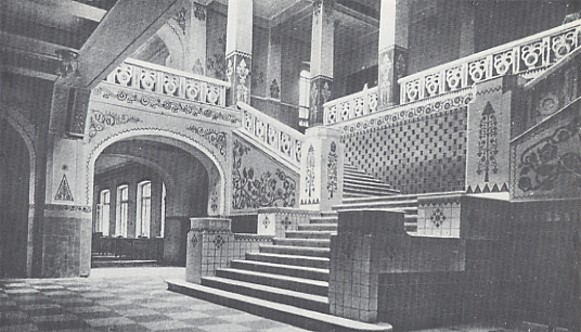 Image - The first floor lobby in the Poltava Zemstvo Building designed by Vasyl H. Krychevsky in 1903-1907.