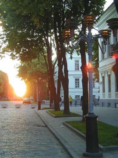 Image - A street in Poltava.