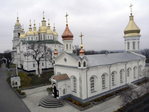 Image - Poltava: The Monastery of the Elevation of the Cross (cathedral) (1689-1709).