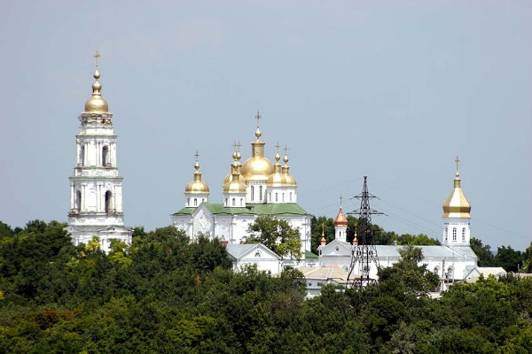 Image - Poltava: The Monastery of the Elevation of the Cross.