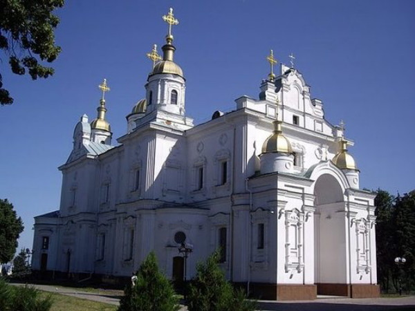 Image - Poltava: The Elevation of the Cross Cathedral (1689-1709).