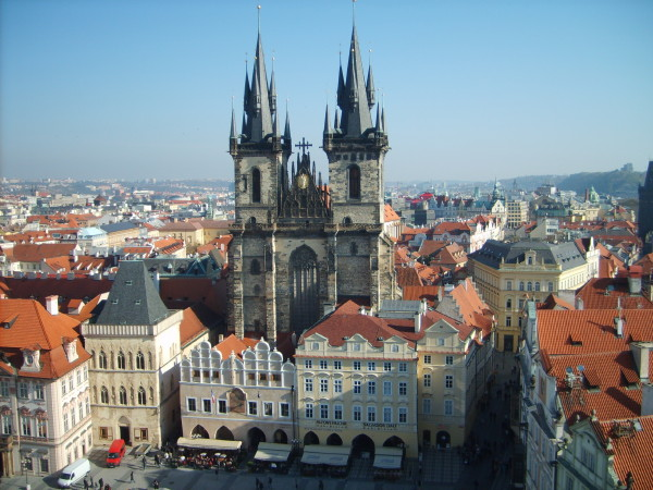 Image - Prague: city center.