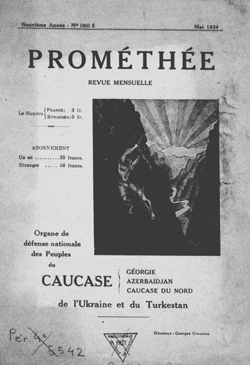 Image - Promethee (no. 90, 1934) (Paris).
