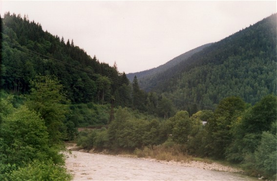 Image - The Prut River near Deliatyn.