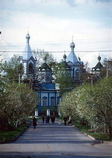 Image - Pryluka: Church of the Three Hierarchs (19th century).