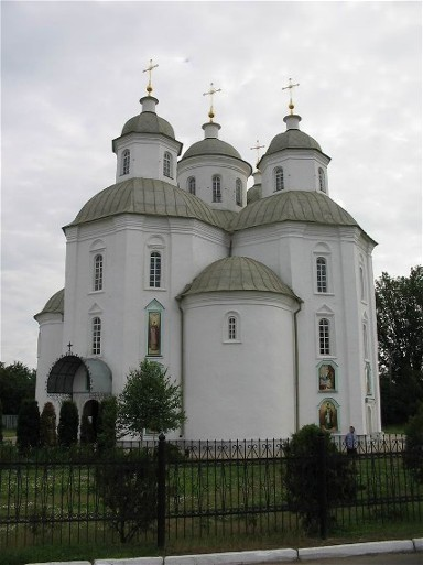 Image - Pryluka: Transfiguration Cathedral (18th century).