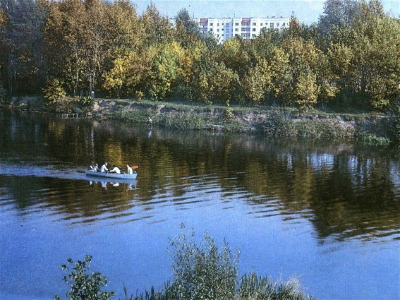 Image - The Psol River in Sumy.