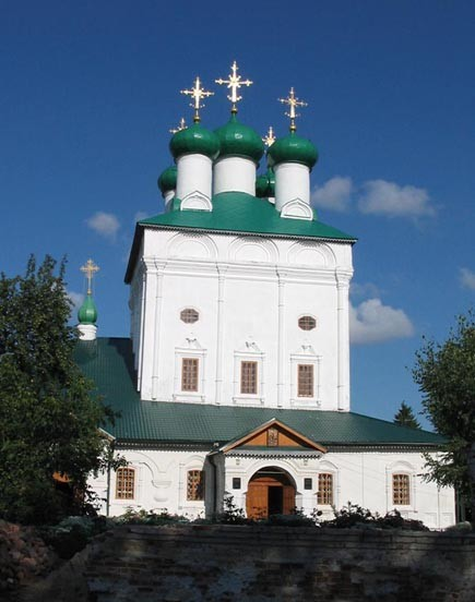 Image - Putyvl: The Transfiguration Cathedral of the Transfiguration Monastery.