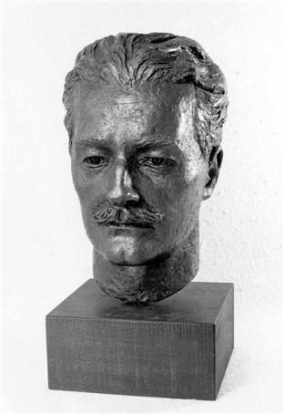Image - Bust of Serhii Pylypenko by his daughter Mirtala