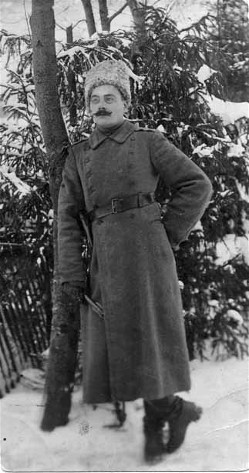 Image - Serhii Pylypenko at the front during the First World War