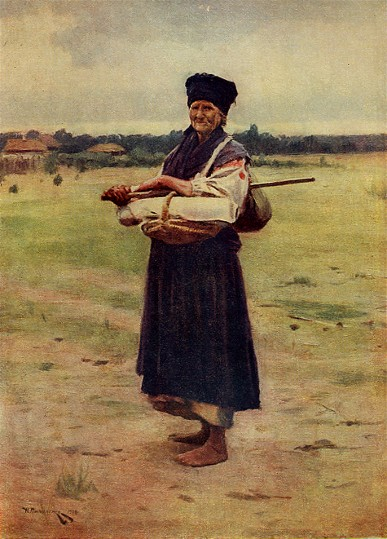 Image - Mykola Pymonenko: A Seller of Cloth (1901)