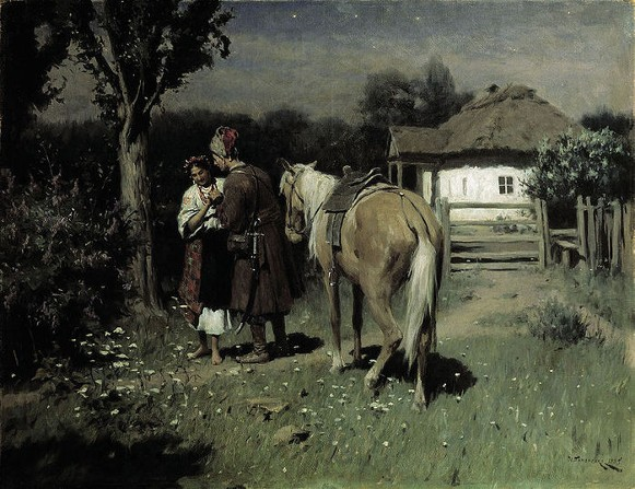 Image - Mykola Pymonenko: Ukrainian Night.