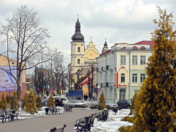 Image - Pynsk, Brest oblast (city center).