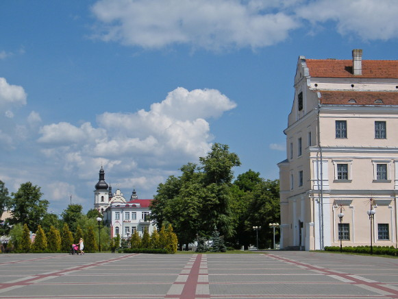 Image - Pynsk (Pinsk): city center.